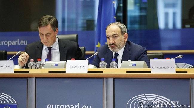 "Pashinyan in Brussels: ""CEPA is of tremendous importance for the success of our reforms"