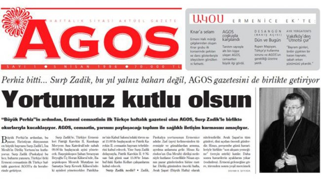 Turkish Airlines stops giving out Turkish-Armenian weekly Agos