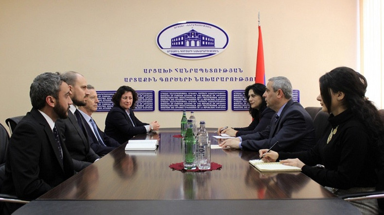 Foreign Minister Received Newly Appointed Artsakh Program Manager of The HALO Trust