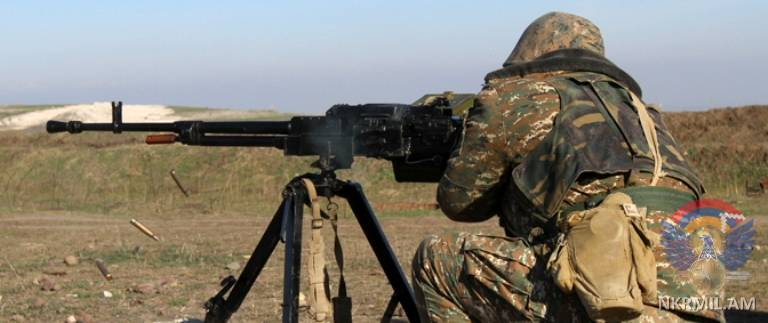 Artsakh reports over 220 Azerbaijani ceasefire violations over past week